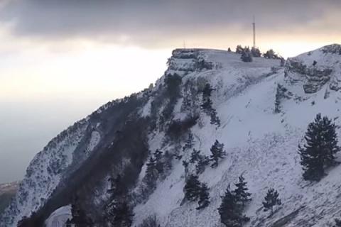 Навыходных вКрыму снова похолодает, реален сход лавин вгорах