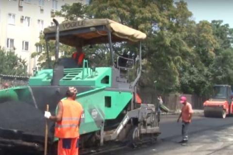 Аксенов: дороги вСимферополе отремонтировали на«четверку»